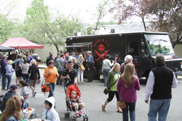 Food Trucks at Chateau Ste Michelle