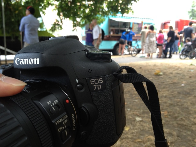 Canon 7D at Mobile Food Rodeo 2012